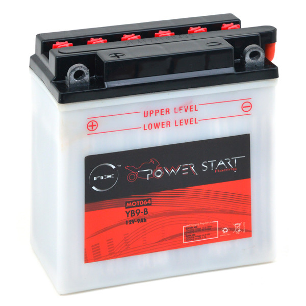 Motorbike, Scooter battery 12V 9Ah for Aprilia 50 SR 50 R FACTORY 2T 2004 - 2010