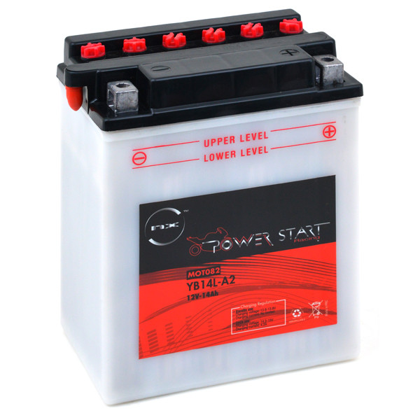 Motorbike, Scooter battery 12V 14Ah for Moto Guzzi 750 NEVADA 750 IE / CLUB CLASSIC 2003 - 2008