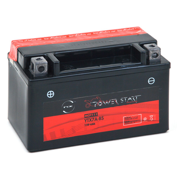 Motorbike, Scooter battery 12V 6Ah for Suzuki 125 UC 125 EPICURO K1 1999 - 2003