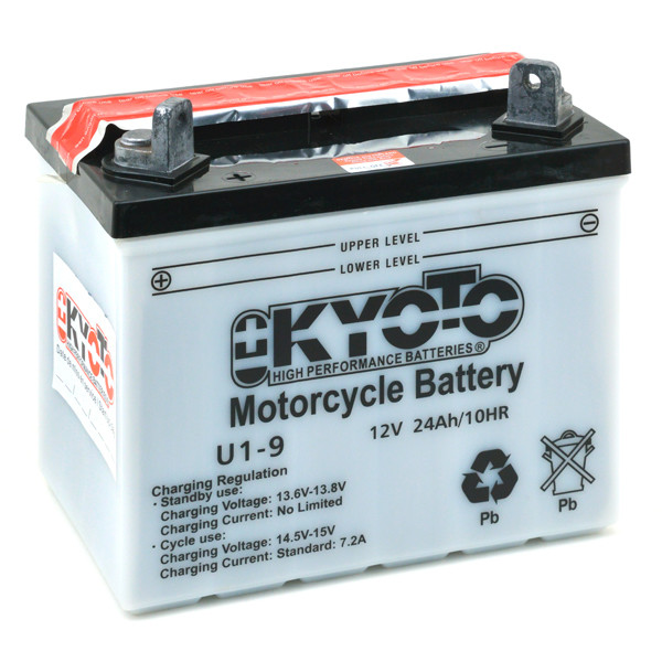 Lawnmower battery 12V 24Ah for Ford Motor Company 100