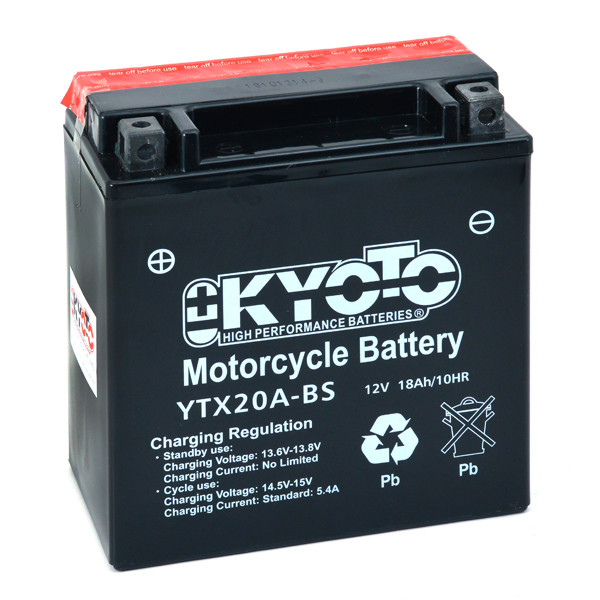 Motorbike, Scooter battery 12V 18Ah for Honda 1000 XL 1000 V VARADERO SD01 SD02 2003 - 2006