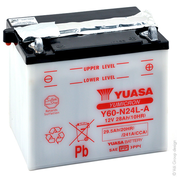 Tractor and Ride On Lawnmower Battery 12V 28Ah for Noma LX-1240