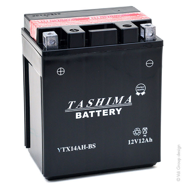 Quad bike battery 12V 12Ah for Polaris 500 SCRAMBLER (4X4) 2012