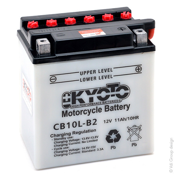 Motorbike, Scooter battery 12V 11Ah for Piaggio 125 HEXAGON 125 LX LXT 1998 - 1999