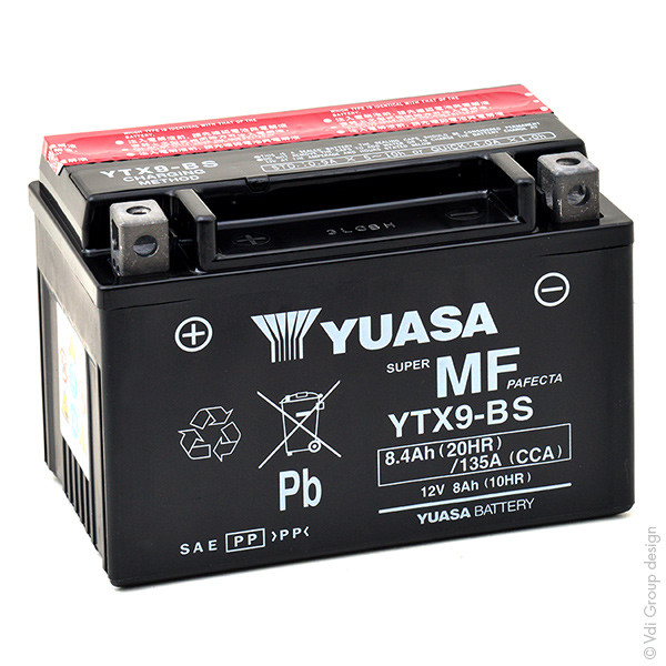 Motorbike, Scooter battery 12V 8Ah for Honda 125 FES 125 PANTHEON JF05 1998 - 2002