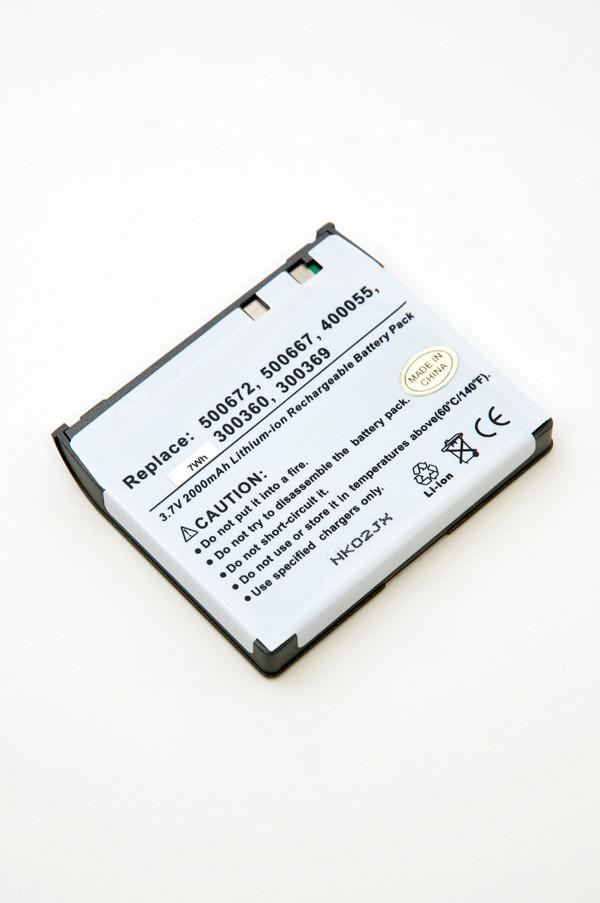 MP3, MP4, multimedia battery 3,7V 2000mAh for Archos PMA400