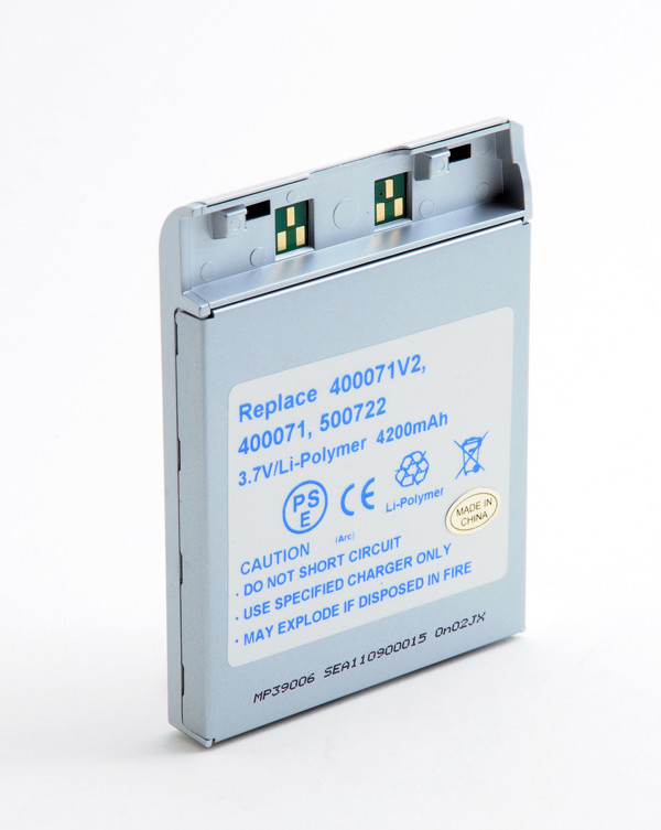 MP3, MP4, multimedia battery 3,7V 4200mAh for Archos AV700 Mobile DVR (100GB)