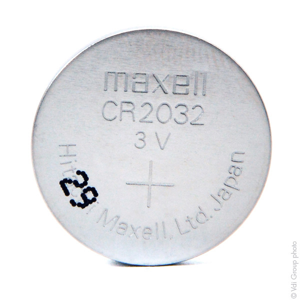 Lithium button cell (blister) CR2032 MAXELL 3V 220mAh