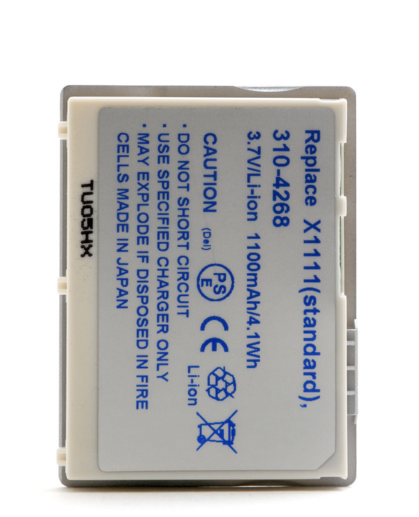 Mobile phone, PDA battery 3,7V 1000mAh for Dell Axim X3i
