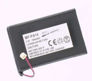 Mobile phone, PDA battery 3,7V 1100mAh for Palm Zire 71