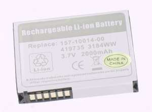 Mobile phone, PDA battery 3,7V 2000mAh for Palm Treo 650