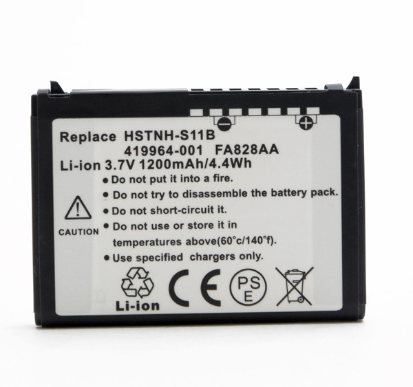 Mobile phone, PDA battery 3,7V 1200mAh for HP Compaq Ipaq RX4240