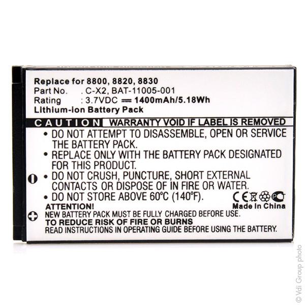 Mobile phone, PDA battery 3,7V 1000mAh for BlackBerry 8800R