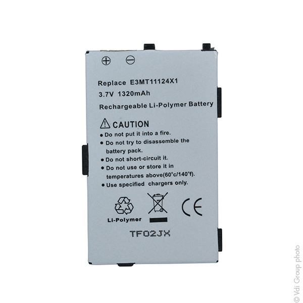 Mobile phone, PDA battery 3,7V 1150mAh for Mitac Mio A701