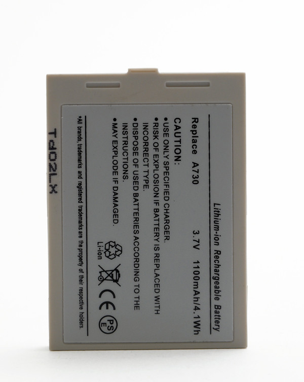 Mobile phone, PDA battery 3,7V 1100mAh for Asus MyPal A730