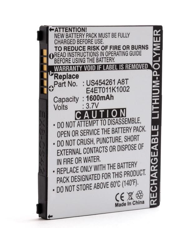 Mobile phone, PDA battery 3,7V 1600mAh for Acer Tempo X960