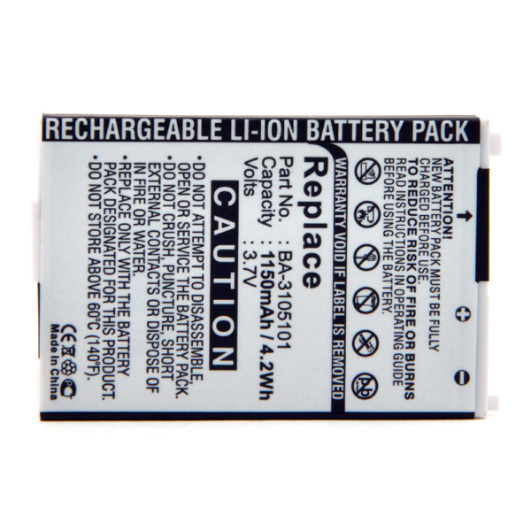 GPS battery 3,7V 1150mAh for Acer E305