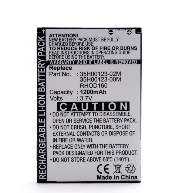 Mobile phone, PDA battery 3,7V 1200mAh for HTC Touch Pro II