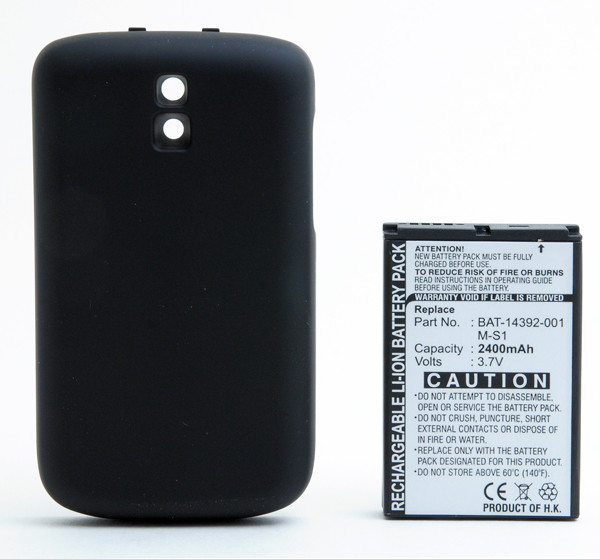 Mobile phone, PDA battery 3,7V 2400mAh for BlackBerry Bold 9000