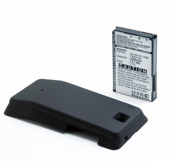 Mobile phone, PDA battery 3,7V 2200mAh for HTC Hero 130