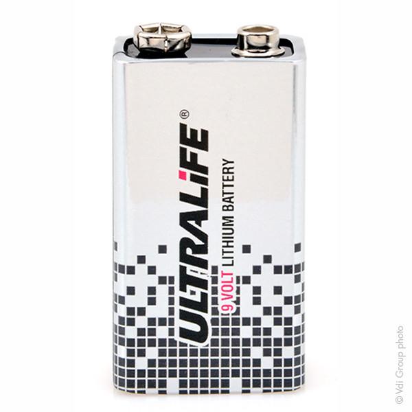 Industrial lithium battery U9VL-J-P 9V 1.2Ah