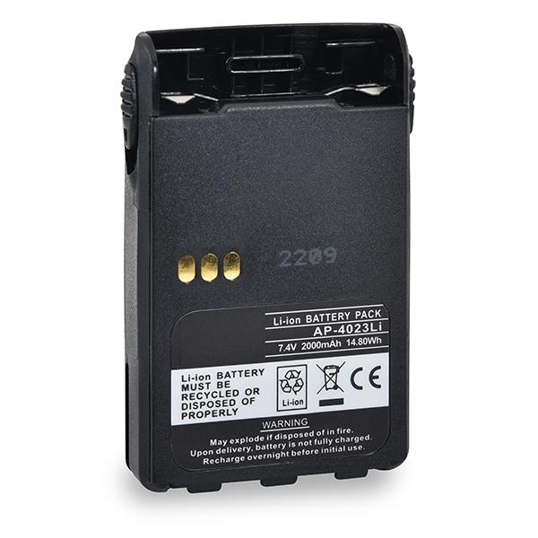 2Way radio battery 7,4V 2000mAh for Motorola EX600 Lithium - Ion