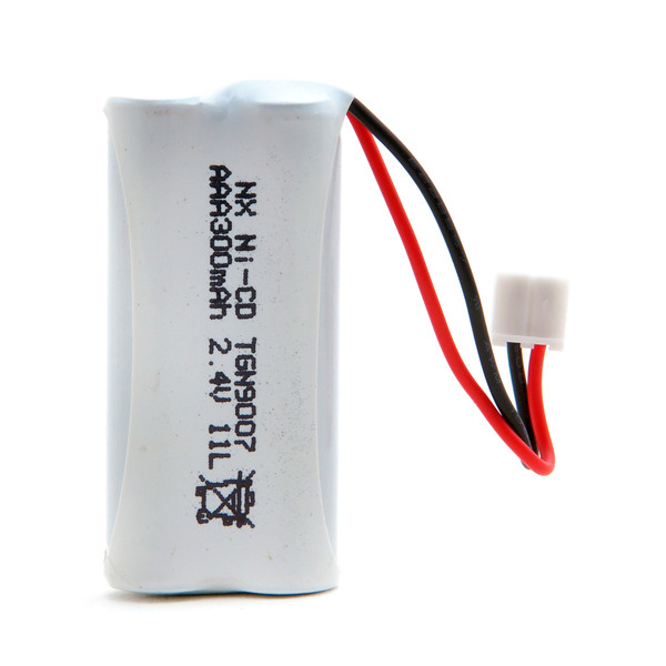 Cordless phone battery 2,4V 300mAh for Alcatel Versatis 350