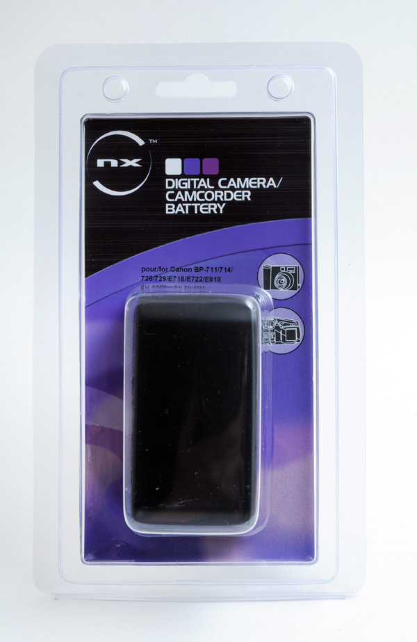 Camcorder battery 6V 4000mAh for Canon ES-280