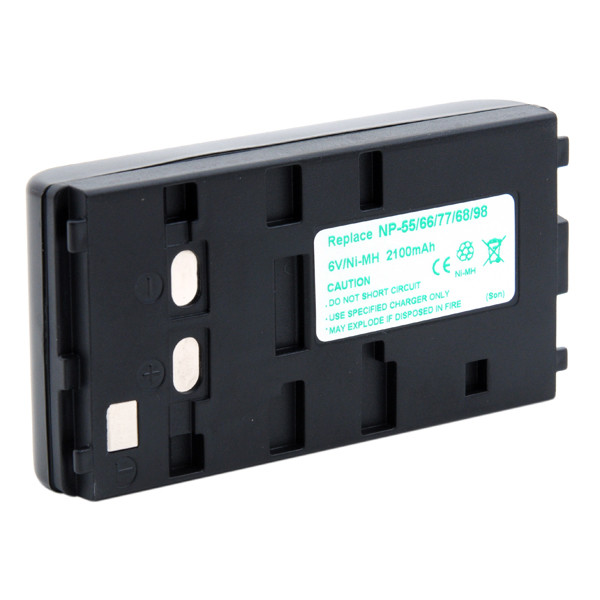 Camcorder battery 6V 2100mAh for Sony CCD-F555E