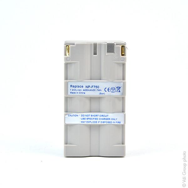 Camcorder battery 7,2V 4400mAh for Sony GV-D900