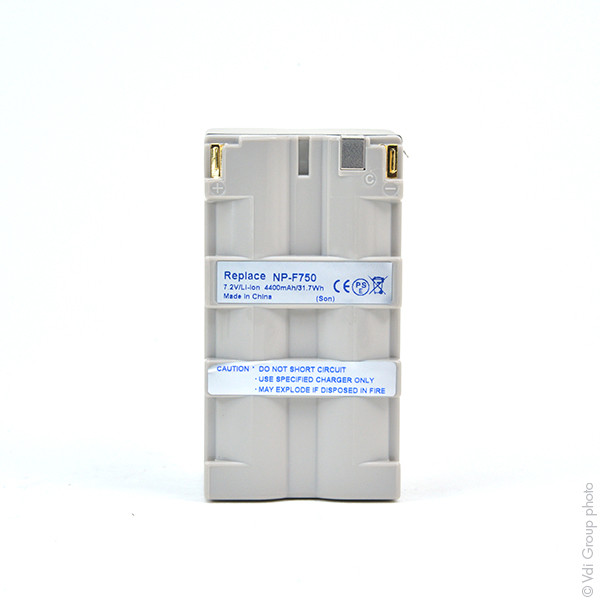 Camcorder battery 7,2V 4400mAh for Sony DSR-PD150
