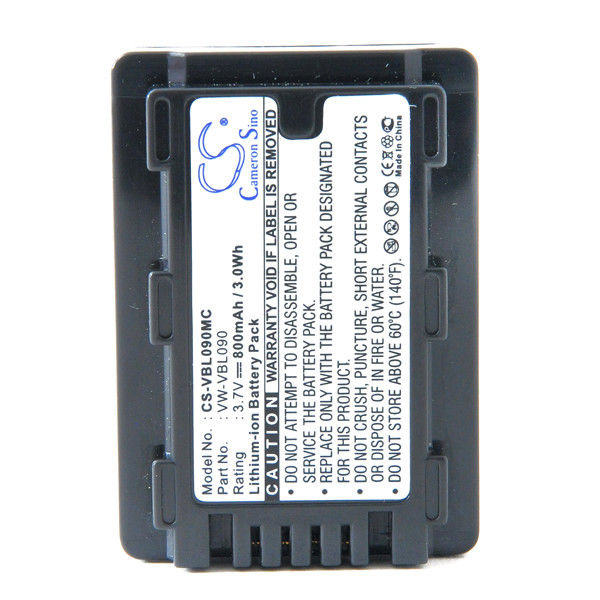 Camcorder battery 3,7V 800mAh for Panasonic HDC-SD60S