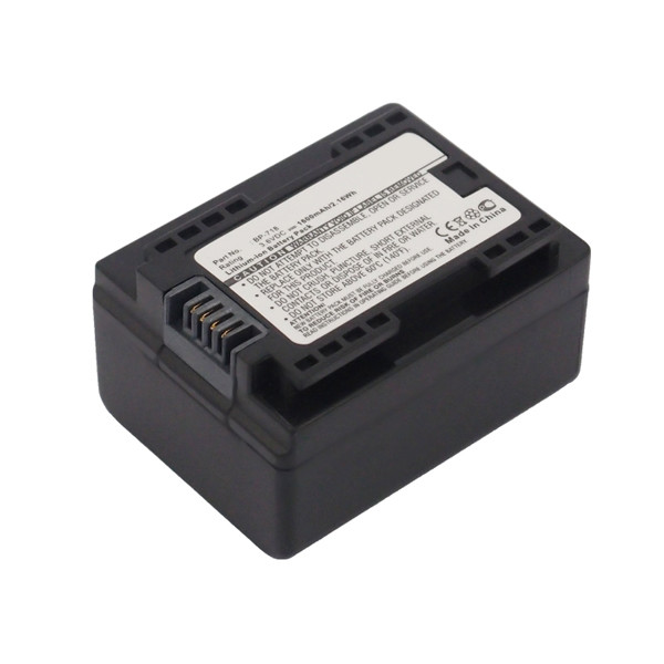 Camcorder battery 3,6V 1600mAh for Canon Legria HF R306
