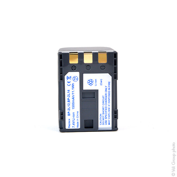 Camcorder battery 7,4V 1500mAh for Canon MD160