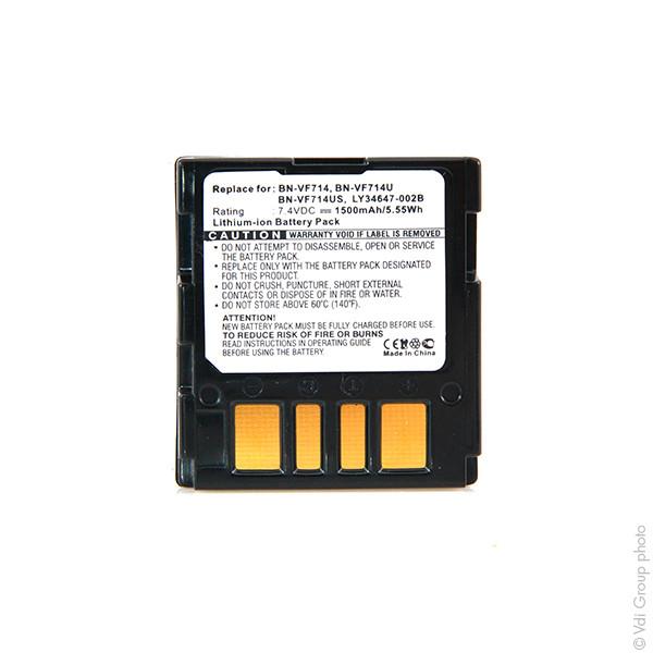 Camcorder battery 7,4V 1500mAh for JVC GR-DF425