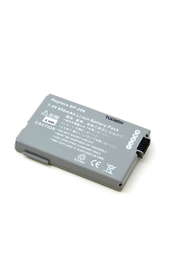 Camcorder battery 7,4V 800mAh for Canon MV-X1Si