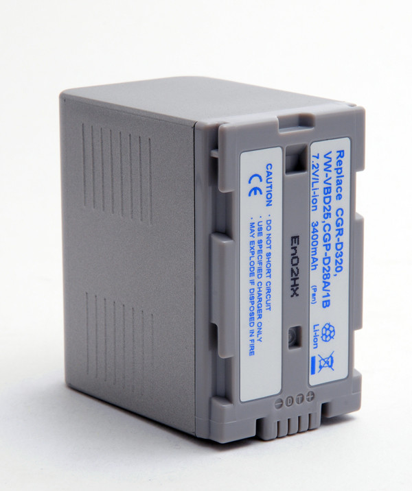 Camcorder battery 7,2V 3400mAh for Panasonic NV-DS15