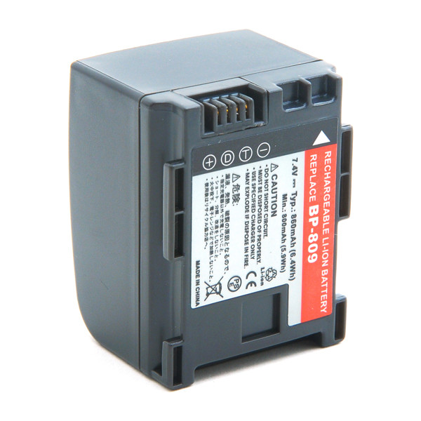 Camcorder battery 7,4V 860mAh for Canon Vixia HF S200