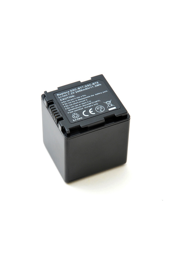 Camcorder battery 7,2V 2200mAh for Toshiba Gigashot GSC-A40F