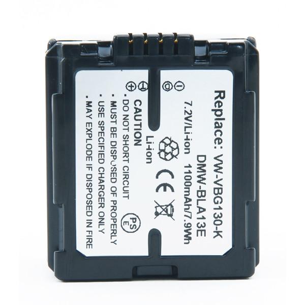 Camcorder battery 7,4V 1100mAh for Panasonic HDC-SD20