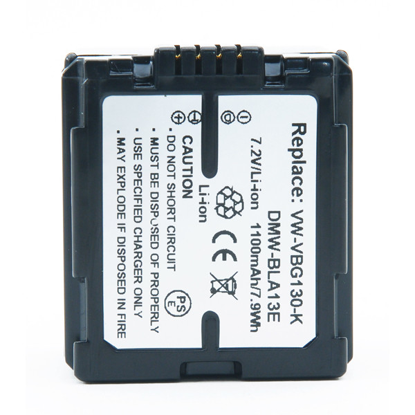 Camcorder battery 7,4V 1100mAh for Panasonic HDC-DX1GK