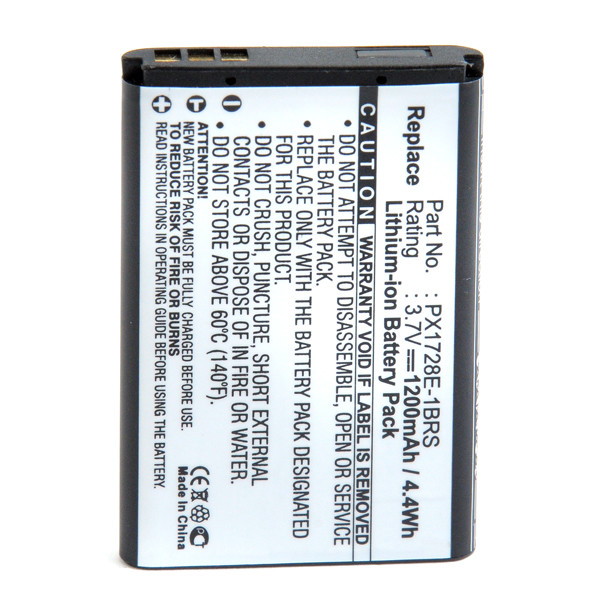 Camcorder battery 3,7V 1200mAh for Toshiba Camileo P100 HD