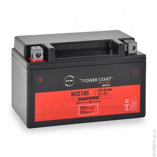 Motorcycle battery NTZ10S / YTZ10S 12V 8.5Ah - MOT127