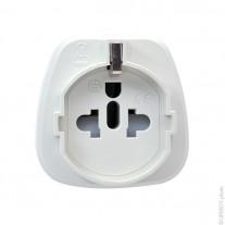 Mains adaptor EU to UK plug (AC)