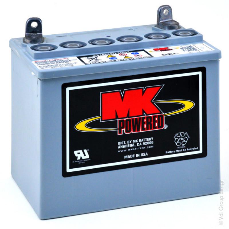 Gel lead acid battery MK MU-1 SLD G 12V 31Ah M5-M - AMP0717