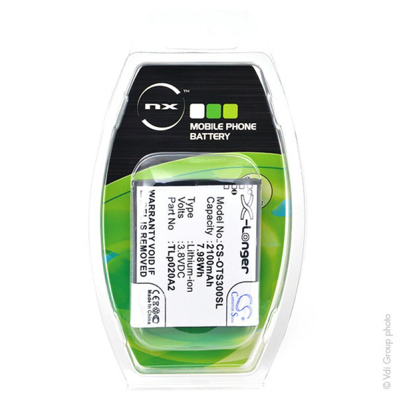 Mobile phone battery 3.8V 2100mAh - GML90710